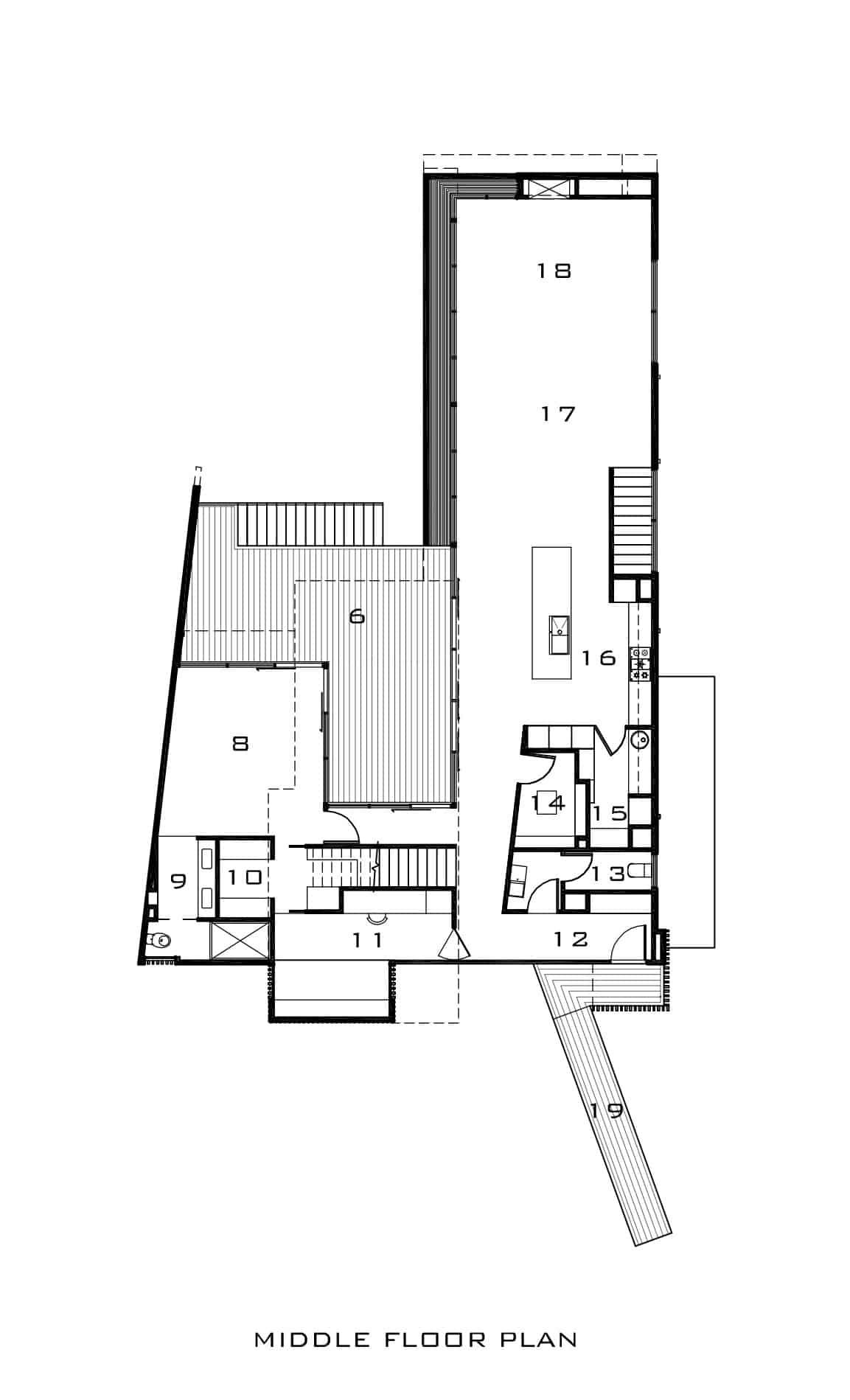 Kew House 3 by Vibe Design Group via homedsgn.com