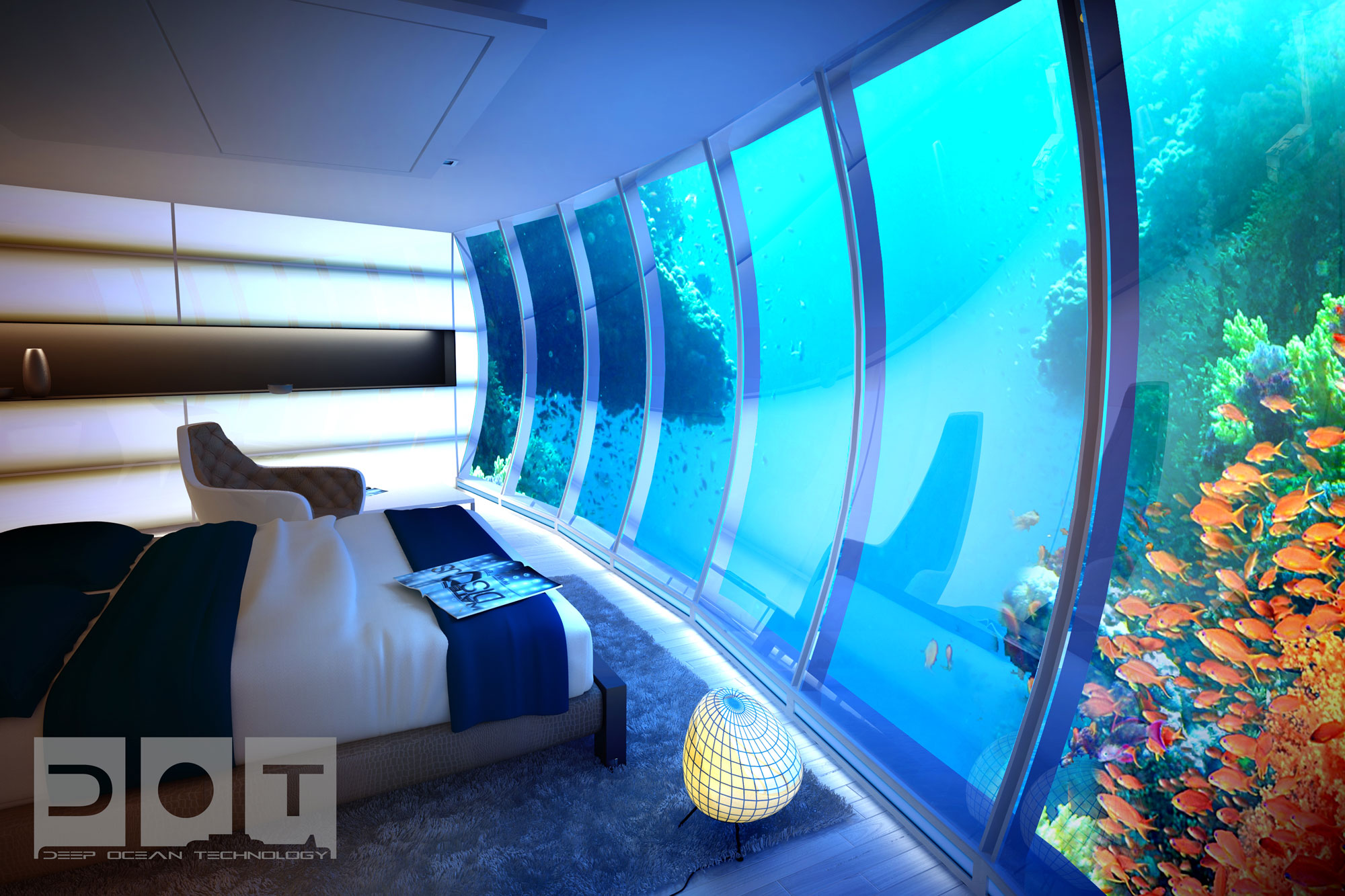 The Water Discus Underwater Hotel Planned For Dubai (12