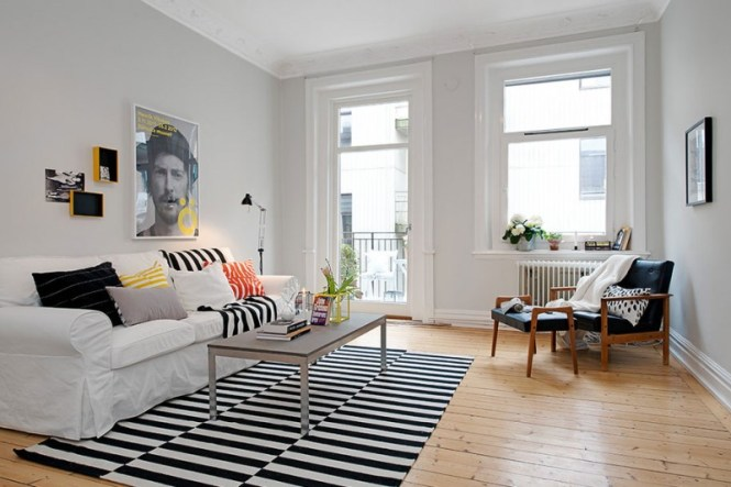 Scandinavian Design Hip And Fresh Apartment In Gothenburg Homedsgn