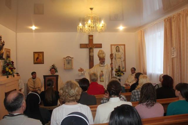 Римско-католическая церковь часовня св. Иосифа Уфа Башкирия