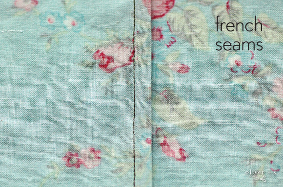Picture of French seams