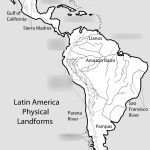 South Latin America Physical Features 2019 Diagram Quizlet