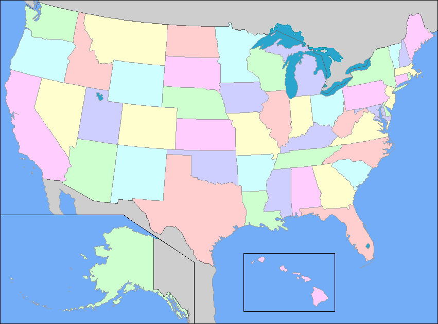 Learn vocabulary, terms, and more with flashcards, games, and other study tools. United States Political Map Diagram Quizlet