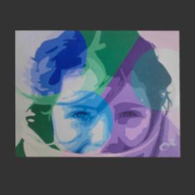 Vent froid peinture de l'artiste O²