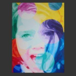 Le Kif peinture repréentant un portrai
