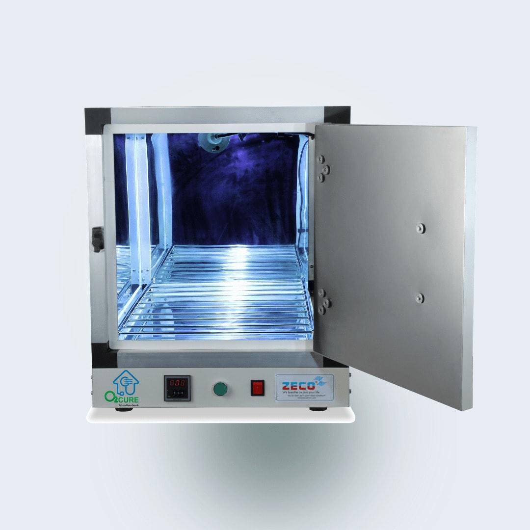 O2 Cure UV Sterilization Chamber