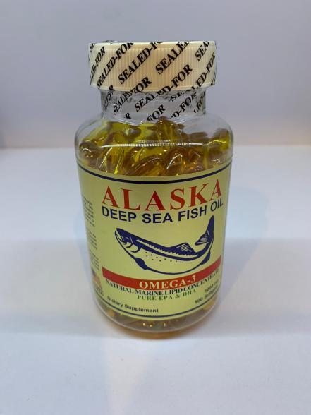 ALASKA DEEP SEA FISH OIL