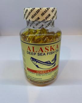 【🇺🇸美國出口 阿拉斯加深海魚油 (ALASKA DEEP SEA FISH OIL) 100'S】
