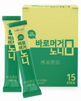 【🇰🇷韓國出口 Noni神奇養生果諾麗果酵素即溶養生粉(15包/盒)】