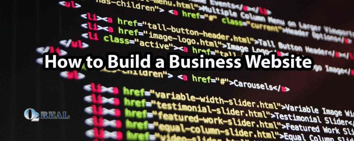 How to Build a Business Website