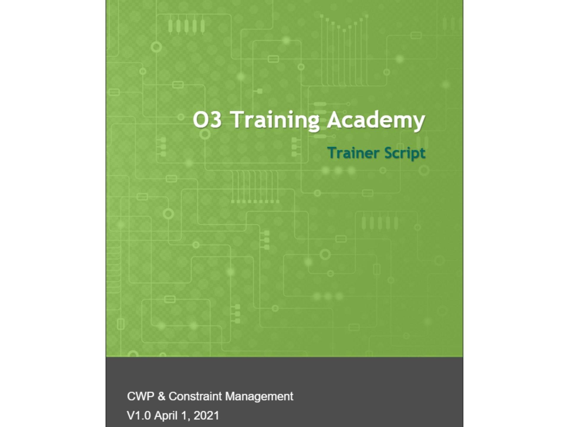o3 academy