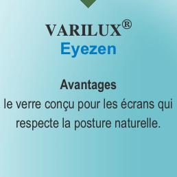 verres essilor varilux eyezen