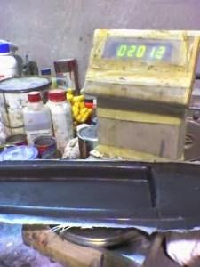 Casco fibra carbono velero RC