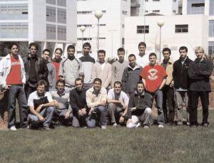 Representación del equipo que inició el proyecto