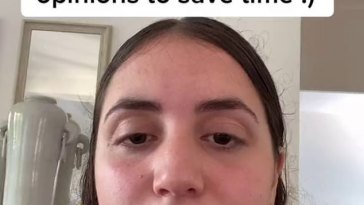 Woman reveals the way she saves time on Tinder by