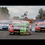 2014 Dunlop MSA British Touring Car Championship – highlights from Croft