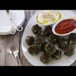 Appetizer Recipes – How to Make Herbed Spinach and Kale Balls