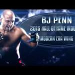 BJ Penn: 2015 UFC Hall of Fame Inductee