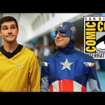 CAPTAIN AMERICA AND CAPTAIN KIRK DO COMIC CON!