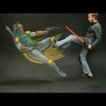 Epic Star Wars 3D Chalk Art! – AWE Me Artist Series