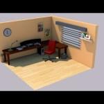 Isometric Gaming Room  – 3D Speed art (#Cinema4D) | CreativeStation