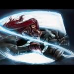 Katarina vs MasterYi – Digital Painting (#Photoshop) | CreativeStation