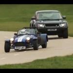 Land Rover Bowler EXR S v Caterham Seven Supersport race – autocar.co.uk