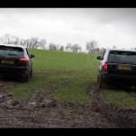 Range Rover v Porsche Cayenne drag racing off road – autocar.co.uk