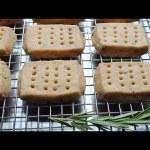 Rosemary Shortbread Cookies – How to Make Shortbread Cookies