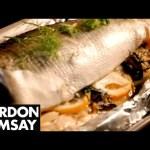 Seabass With Fennel, Lemon & Capers – Gordon Ramsay