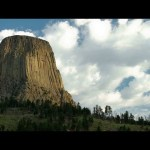 See Devils Tower National Monument From Space