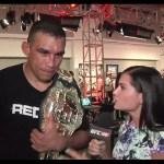 UFC 188: Fabricio Werdum Backstage Interview