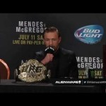 UFC 189: Post-fight Press Conference Highlights