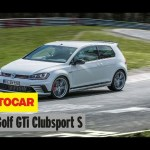 Volkswagen Golf GTI Clubsport S | On board Nürburgring Record Lap | Autocar