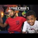 ماين كرافت مع اخوي الصغير منذر Minecraft gameplay