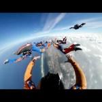 Samsung Gear 360: Skydiving in Rio in 360°