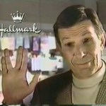 "Leonard Nimoy for Hallmark's ""Shuttlecraft Galileo"" Ornament (1992)"