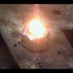 Melting Black Sand Into Lava rock/Obsidian With Hydrogen