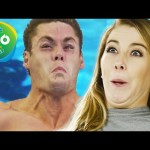 "Olympic Divers Recreate ""Diving Faces"""