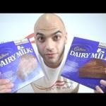 تحدي اكل 2 كيك شوكولاتة كادبوري كمية هائلة من السكر اكثر من 3500 سعرة حرارية |التحدي الأكبر|