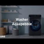 [Samsung] FlexWash™ – Aquapebble