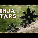 DIY Ninja Throwing Stars