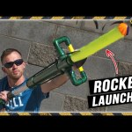 PVC Rocket Launcher & Pool Noodle Rockets