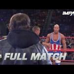 AJ Styles vs Kurt Angle: FULL MATCH (TNA Slammiversary XI)   IMPACT Wrestling Full Matches