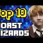 TOP 10 WORST HARRY POTTER WIZARDS