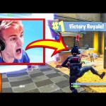 Ninja Rages On Stream Because Of Bot | Fortnite Rage Moments Compilation