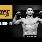 UFC 211: Official Weigh-in