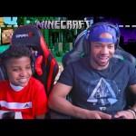 Minecraft Survival –  ماينكرافت بلايستيشن مع اخوي الصغير الحلقة 1