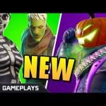 Fortnite Fortnitemares Update | New Halloween Skins | Pumpkin Launcher | Fortnite Battle Royale