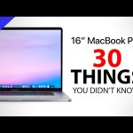 MacBook Pro 16″ – 30 Things You Didn't Know!